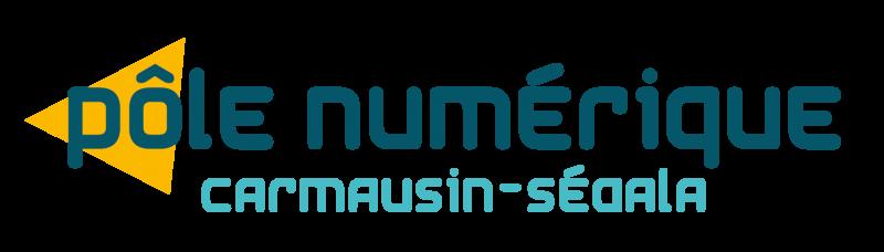 Logo pôle numérique Carmausin Ségala