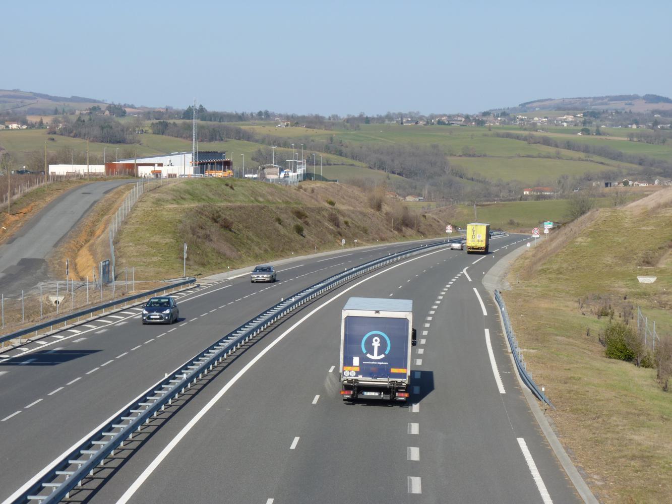 N88 reliant Albi à Rodez