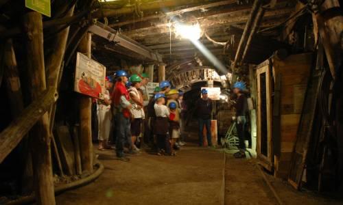 Intérieur de la mine