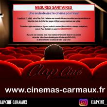 Clap Ciné limite ses jauges à 49 personnes par salle
