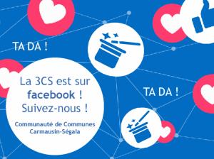 La 3CS est sur Facebook, suivez-nous !